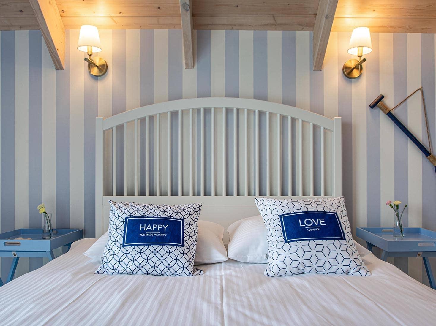 03-Domek nad morzem 5 luksusowy Zatoka Mew dla max 8 osob sypialnia