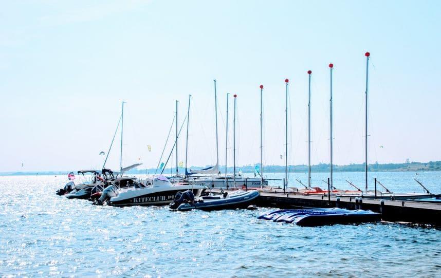 Molo nad Zatoką Pucką - okolica Zatoki Mew